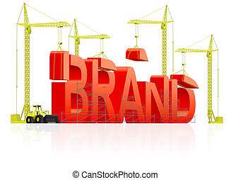 brand building - Brand development or creation of strong red...