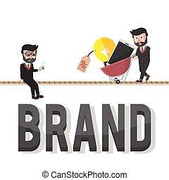 brand entrepreneurs illustration