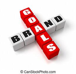 Brand Goals Red
