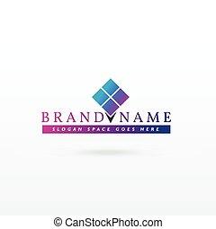 brand logo concept vector design