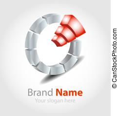 Brand logo orange