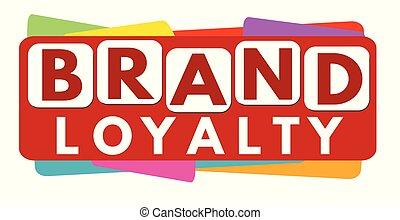 Brand loyalty banner design