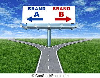 Brand loyalty - Choosing brands and branding loyalty...