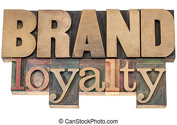 brand loyalty in wood type
