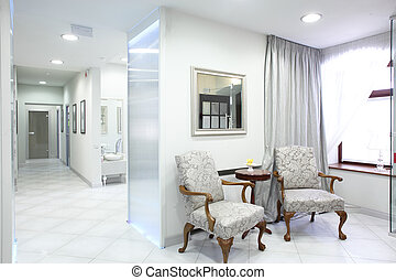 european luxury medical clinic - brand new and empty...