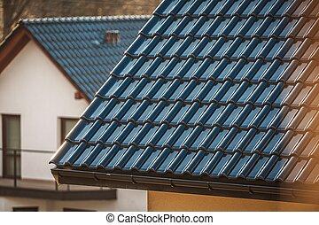 Ceramic Tiles House Roof