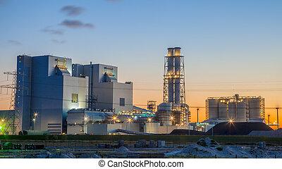 Brand new coal power plant - Ultra modern coal powered...