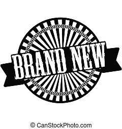 Brand new - Stamp with text brad new inside,vector...