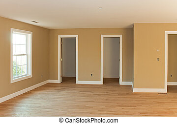 Brand New Home Room Interior
