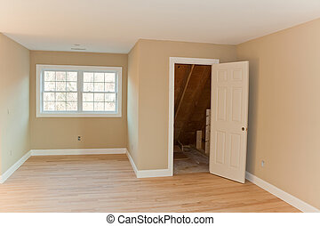 Brand New House Room Interior