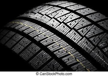 Brand new high performance modern winter car tire.