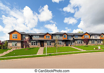 Brand New Row of Townhouses for Sale