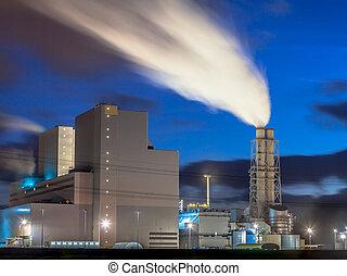 Brand new working power plant - Ultra modern coal powered...