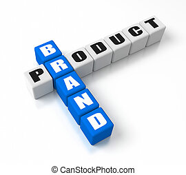 Brand Product crosswords. Part of a business concepts series...