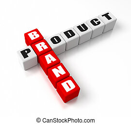 Brand Product crosswords. Part of a business concepts...