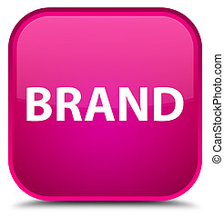Brand special pink square button