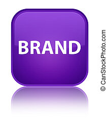 Brand special purple square button