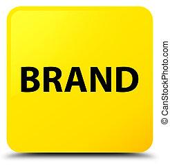 Brand yellow square button
