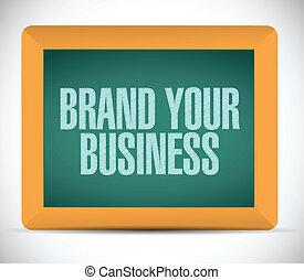brand your business illustration design