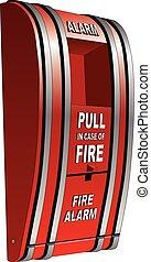 brandalarm, vrijstaand