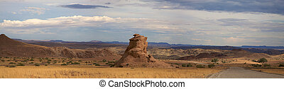Brandberg conservation reserve in Namibia
