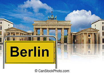 Brandenburg gate , berlin, germany