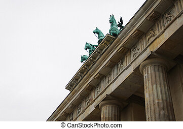 Brandenburg Gate Close up