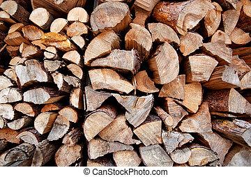 brandhout, achtergrond