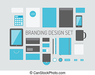 Branding identity vector collection - Quality vector set of...