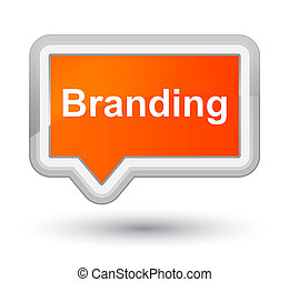Branding prime orange banner button