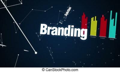 Text animation 'Marketing Strategy