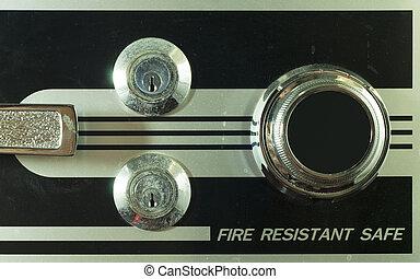 brandkast, vault.