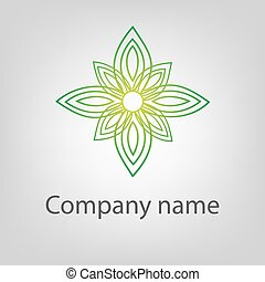 brandmarken, abstrakt, logotype, vektor, design, schablone, logo, korporativ, concept., ikone
