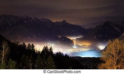 Brandnertal Vorarlberg valley timelapse - Beautiful 4k UHD...