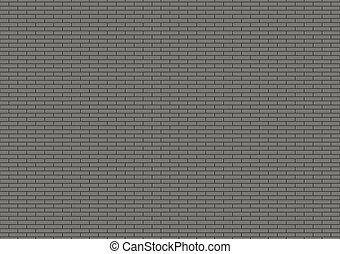 brandnew, grigio, muro di mattoni