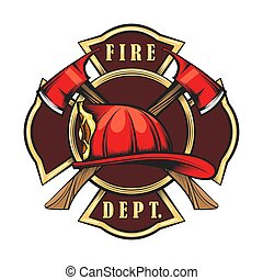 brandweer, embleem