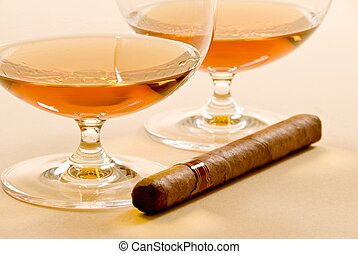 Brandy and Cigar
