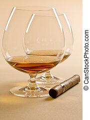 Brandy and Cigar