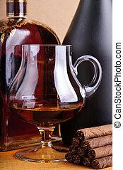 brandy and cigarillos