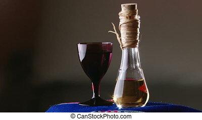 Brandy, bottle
