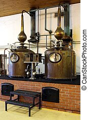 Brandy Copper Potstills - Copper potstills for the...