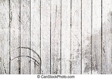branqueado, pranchas madeira