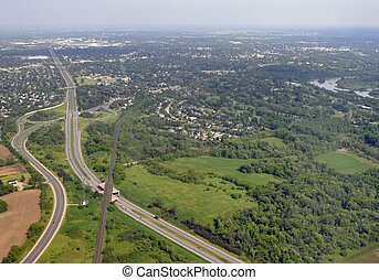 Brantford, Ontario aerial