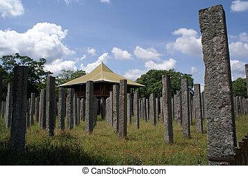 Branzen palace in Anuradhapura, Sri Lanka