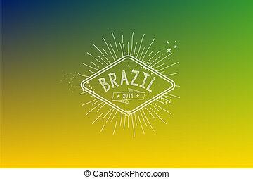 brasil, 2014, vindima, etiqueta