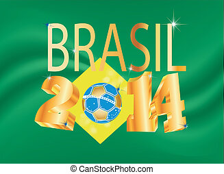 vector image WM Brazil 2014