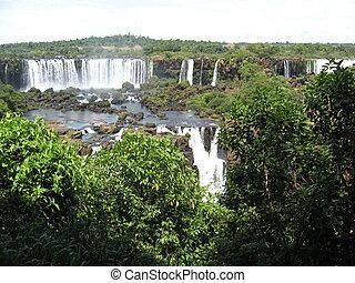 brasil,  América, bajas, sur,  Iguazu