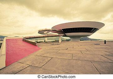 brasil, arte, janeiro, museo, de, contemporáneo, río,...