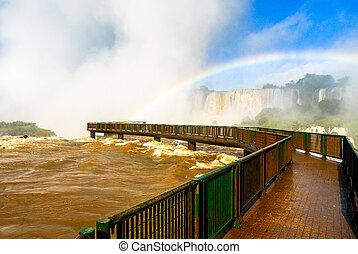 brasil, -, caídas de iguassu