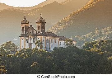 Brasil, cidade, ouro, mundo, gerais, minas, herança, UNESCO,...